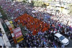Huge CNRP protests