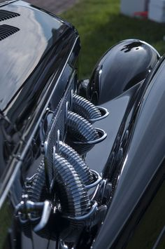 crazyforcars: Delage with exposed exhaust pipes - Wicked Little Sins