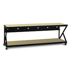 "96"" Performance 300 Series® LAN Station - Hard Rock Maple Item #: 5000-3-301-96"