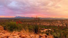 Awing sunset shot taken by @GocheGanas  #conservation #wilderness #Nature #Namibia