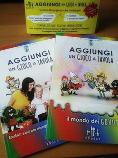"""Il libro """"Aggiungi un gioco a tavola"""". #edueat #alimentazione #bambini #genitori #govut #sensi #gioco"""