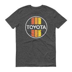 Retro Toyota Stripes short sleeve t-shirt