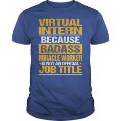 (Tshirt Charts) Awesome Tee For Virtual Intern [Tshirt design] Hoodies Tee Shirts
