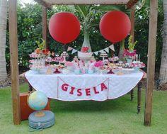 Festa infantil com tema Matrioska, decoração por Ameizing Parties and More - Blog Kikids Party