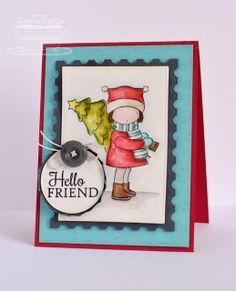 Pure Innocence Happy Christmas; Snowflake Splendor; Sheet Music Background; Pierced Circle STAX Die-namics; Pierced Rectangle STAX Die-namics - Joanne Basile