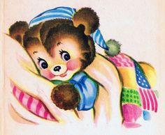 Children Illustration Art Fantasy Night 34 Ideas For 2019 Vintage Children's Books, Vintage Cards, Vintage Images, Vintage Paper, Art And Illustration, Vintage Illustrations, Gatos Cats, Good Night Sweet Dreams, Nighty Night