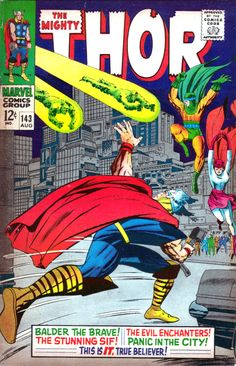 The Mighty Thor 142 - Stan Lee and Jack Kirby