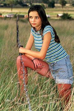 March 14 1997 In her first modelling shoot at the age of 13, to commemorate her Dolly magazine model search competition win.
