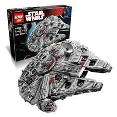 Custom Lego Star Wars Millennium Falcon Set. This custom set was inspired by the Original Lego 10179 collectors set. This set includes 5,265 pieces and an instruction manual. The retail box is not inc