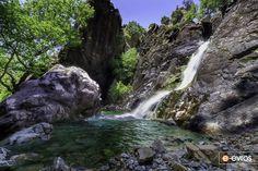 Ορίστε και λίγη δροσιά από τον Ξηροπόταμο της Σαμοθράκης. Waterfall, Outdoor, Outdoors, Waterfalls, Outdoor Games, The Great Outdoors