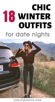 Trendy Fashion Outfits Going Out Date Nights Street Styles 19 Ideas First Date Outfit Casual, Casual Going Out Outfits, Movie Date Outfits, Cute Date Outfits, Winter Date Night Outfits, First Date Outfits, Casual Date Nights, Chic Winter Outfits, Edgy Outfits