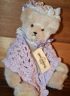 f0ec33598a6 Vintage Jointed Bear west german fur  Handmade  AllOccasion Teddy Bears