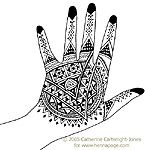 This site doesn't just show henna... it actually teaches you how to do it which is rare (and very cool).