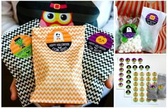 Spooktacular designs and adorable treat bags make this set perfect for classroom parties or to give out to friends, neighbors and trick-or-treaters! Fill each bag with candy, snacks or prizes. (Contents of bags not included in the deal).