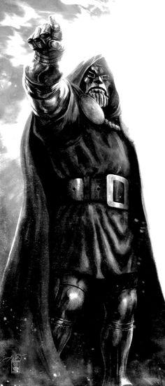 Doctor Doom: Doom points the way