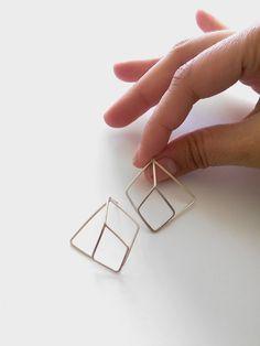 Andrea Pineros Bijoux Boucles Shikensu - Argent 925 Silver Rings, Jewellery, Locs, Jewerly, Jewels, Schmuck, Jewelry Shop, Jewlery, Jewelery