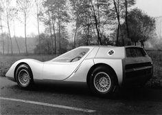 Alfa Romeo OSI Scarabeo 1600 Coupé II (1966)  #1966 #alfaromeo