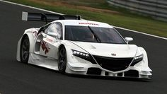 Honda NSX Concept-GT which will race at next year's Super GT Series in Japan