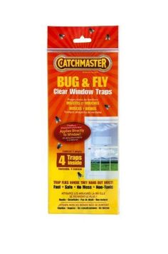 Pest Control Traps - Catchmaster 904 Bug  Fly Clear Window Fly Traps  3 Packs of 4 Traps -- You can find out more details at the link of the image.