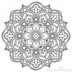 Drawing Doodle Flower Mandala Doodle - Doodle is Art Mandala Doodle, Mandala Art, Mandala Design, Croquis Mandala, Mandalas Drawing, Mandala Coloring Pages, Mandala Pattern, Colouring Pages, Doodle Art