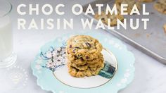 Chocolate Oatmeal Raisin Walnut COOKIES SUBSCRIBE for more Lifestyle Vids: https://www.youtube.com/user/honeysucklecatering?sub_confirmation=1 Today I'm maki...