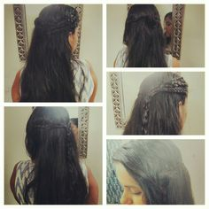 """Braid hairstyles.. old styles but very """"in"""" now.."""