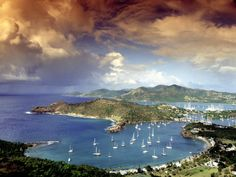 Photographic Print of Antigua in the Caribbean by Alexander Nesbitt.