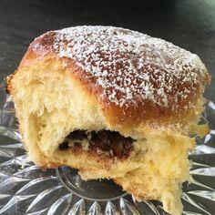 Nutella Hamburger, Bread, Food, Nutella Products, Food Food, Brot, Essen, Baking, Burgers