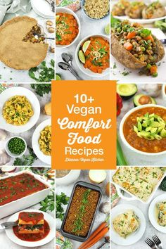 Vegan comfort food recipes will keep you warm and cozy on chilly fall (and winter) days. These hearty meals easy to make, and are healthy versions of the comfort food dinner classics you grew up with. Lasagna, casseroles, mac and cheese, lentil loaf, and pot pie are sure to cure all of your cravings.