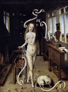 Love Magic, Anonymous, early 15th century