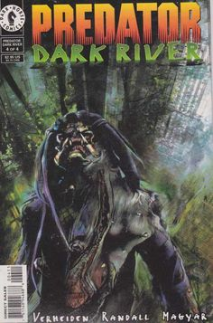 Predator: Dark River was a four-part miniseries published by Dark Horse Comics from July-Oct. 1996. The series was written by Mark Verheiden and drawn by Ron Randall. It was inked by Rick Magyar and colored by David Nestelle, Steve Mattsson, and John Hanan III. Cover art was provided by Miran Kim, and the series was edited by Bob Cooper and Philip Amara.