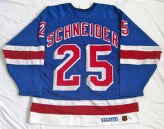 97c126723 Mathieu Schneider's 1998-1999 New York Rangers Game Worn Jersey. Schneider,  Rangers Game