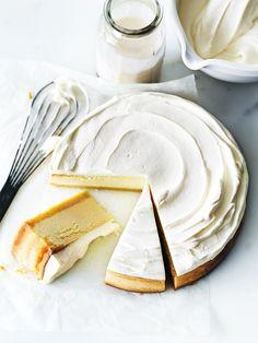 Classic Lemon Cheesecake   Donna Hay