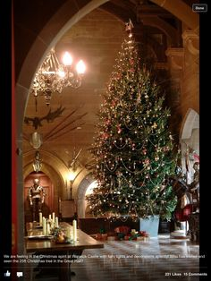 Warwick Castle - England at Christmas
