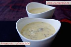 Salsa de mostassa i mel Cheeseburger Chowder, Fondue, Dips, Soup, Vegetarian, Snacks, Tan Solo, Cooking, Tableware