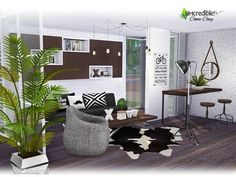 Come Cozy living by SIMcredible! at TSR • Sims 4 Updates
