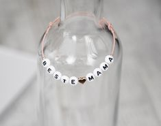 Armbänder - Armband ♥ Beste Mama ♥ - ein Designerstück von RoseandJack bei DaWanda