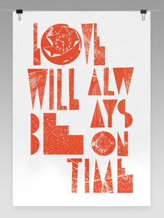 Poster from Changethethought #typography