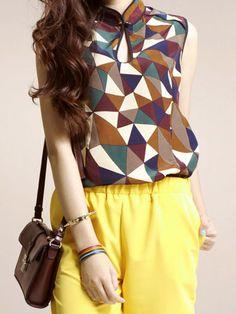 Loving the geometric pattern