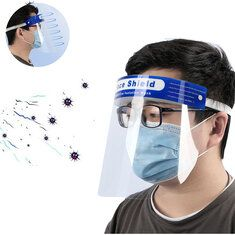 Transparent Adjustable Full Face Shield Plastic Anti-fog Anti-spit Protective Mask for Medical Doctors Nurse Household Faces Film, Facial, Protective Mask, Head Shapes, Sweatshirt Dress, Full Face, Hooded Sweatshirts, Outdoor, Model