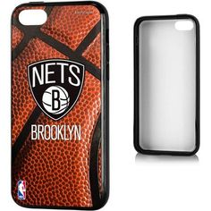 Brooklyn Nets Basketball Design Apple iPhone 5C Bumper Case by Keyscaper