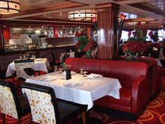 Cagney's Steakhouse Restaurant - Norwegian Pearl Dining and Cuisine