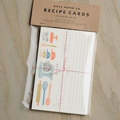 Baker's Recipe Cards {Bella Vita | Collierville, TN}