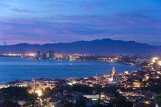 Mexico - Puerto Vallarta:  this is where I spent my honeymoon!