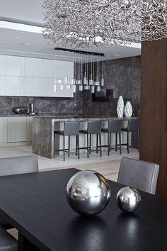 Интерьер квартиры в Москве от архитектурного бюро Александры Федоровой