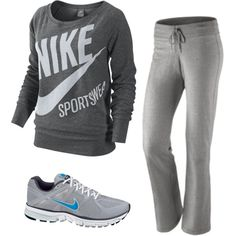 Nike! Cute workout clothes make me want to work out!