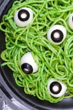 This Halloween pasta recipe is spooky, fun, and the perfect Halloween dinner. An easy dinner to serve before going trick or treating, you can whip it up in just a few minutes. #halloweenideas #halloweendecoration #halloweendecor