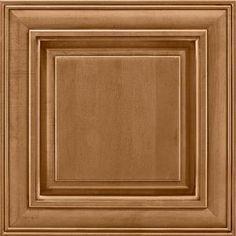 14-9/16x14-1/2 In. Cabinet Door Sample In Savannah Maple Mocha Glaze