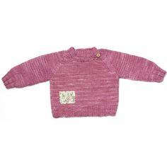 Jersey rosa. Lana 100% merino