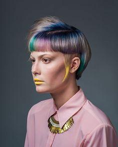 My entry for Goldwell Colorzoom '16 ✨  Model @hannahbaran  MUA @jrose_beauty  Photographer @sarahhookerphoto Hair @adlydesign  #goldwellkmsacademy #iamgoldwell #goldwellcolorzoom16 #goldwellcolorzoom #daretodisrupt